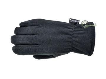 Εικόνα της Γάντια Mil-Tec Fleece Thinsulate Μαύρα