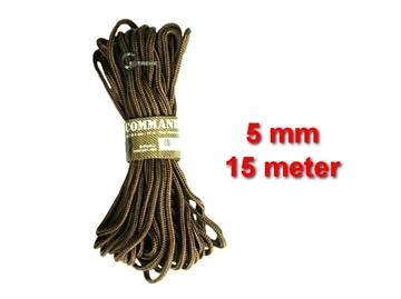 Εικόνα της Σχοινί 5mm 15 Μέτρα Mil-Tec Commando Rope Μπεζ