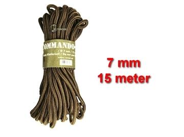 Εικόνα της Σχοινί 7mm 15 Μέτρα Mil-Tec Commando Rope Μπεζ