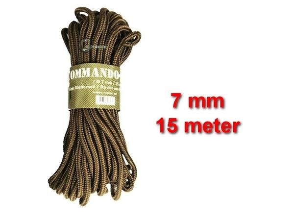 Picture of Σχοινί 7mm 15 Μέτρα Mil-Tec Commando Rope Μπεζ