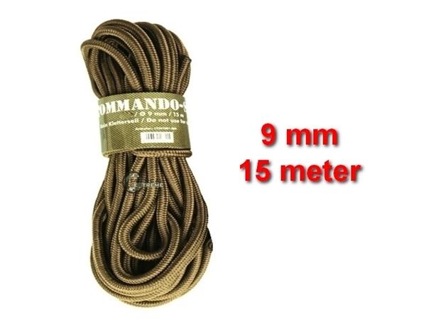Picture of Σχοινί 9mm 15 Μέτρα Mil-Tec Commando Rope Μπεζ