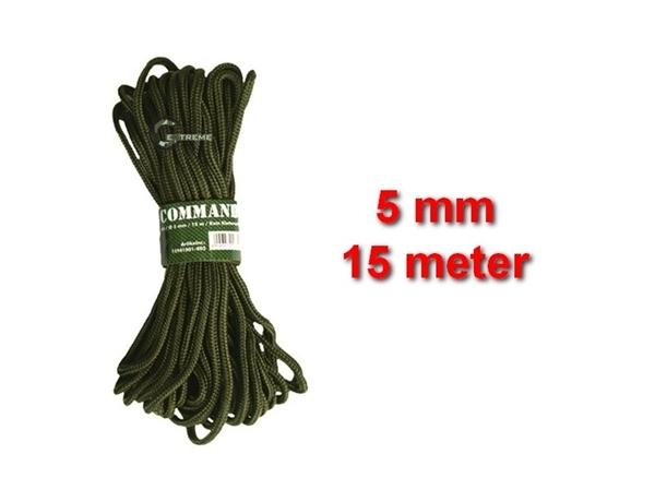Picture of Σχοινί 5mm 15 Μέτρα Mil-Tec Commando Rope Λαδί