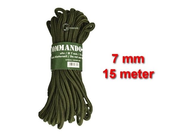 Picture of Σχοινί 7mm 15 Μέτρα Mil-Tec Commando Rope Λαδί