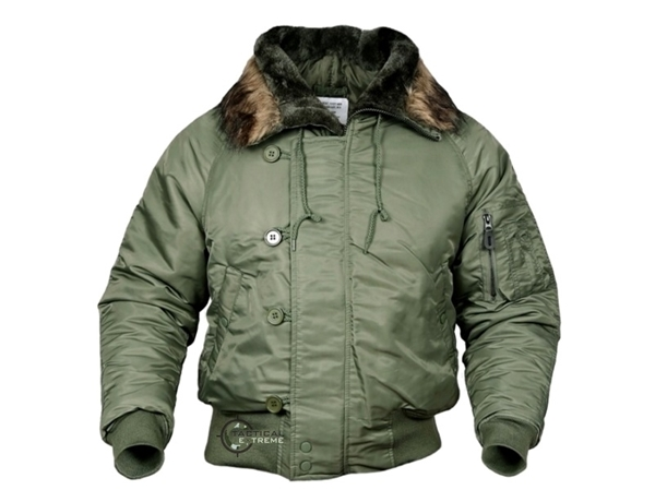 Picture of Μπουφάν N2B Basic Flight Jacket Mil-Tec Λαδί