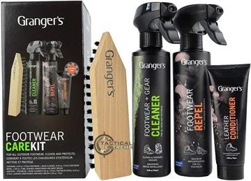 Εικόνα της Σετ Καθαρισμού Granger's Footwear Care Kit