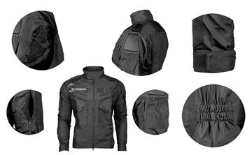 Εικόνα της Chimera Combat Jacket Ripstop Black