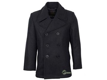 Εικόνα της Παλτό Peacoat US Black Navy Wool