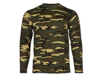 Εικόνα της Μπλούζα Μακρυμάνικη Mil-Tec US Longsleeve T-shirt Παραλλαγής