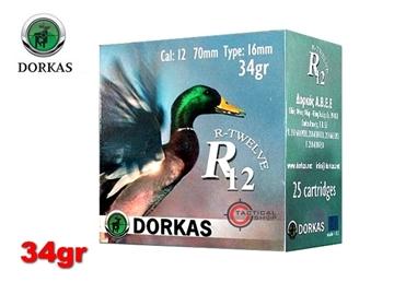 Εικόνα της Φυσίγγια Dorkas R12 34gr
