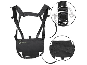 Εικόνα της Mil-Tec Chest Rig Lightweight Black