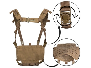 Εικόνα της Mil-Tec Chest Rig Lightweight Dark Coyote