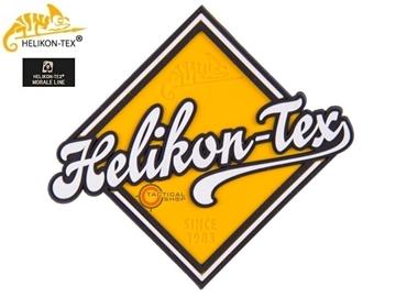 Εικόνα της Helikon Velcro PVC Patch Road Sign Yellow