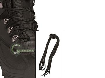 Εικόνα της Κορδόνια Βαμβακερά Mil-Tec Μαύρα 220 cm