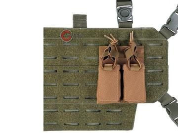 Εικόνα της Διπλή Θήκη Γεμιστήρων Mil-Tec Double Pistol Magazine Dark Coyote