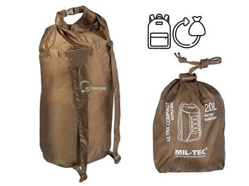 Εικόνα της Doufle Bag Ultra Compact Mil-Tec Dark Coyote