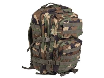 Εικόνα της Σακίδιο Πλάτης Backpack 50L Mil-Tec Army Patrol Assault II Woodland