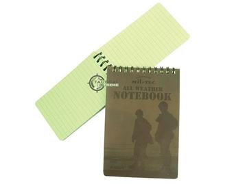 Εικόνα της Αδιάβροχο Σημειωματάριο Mil-Tec Message Book Waterproof Small
