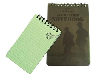 Εικόνα της Αδιάβροχο Σημειωματάριο Mil-Tec Message Book Waterproof Large