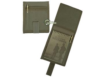 Εικόνα της Αδιάβροχο Σημειωματάριο Mil-Tec Message Book Cover Χακί