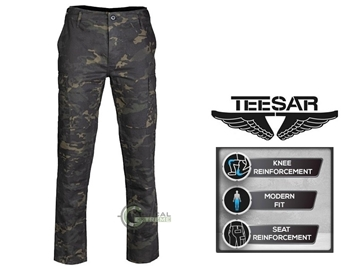 Εικόνα της Παντελόνι Slim Fit US BDU Field Teesar Multitarn Black