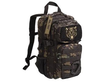 Εικόνα της Παιδικό Σακίδιο Πλάτης Mil-Tec Army Backpack Assault Kids Multitarn Black