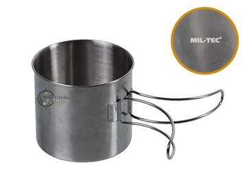 Εικόνα της Ανοξείδωτη Κούπα με Πτυσσόμενη Λαβή 800 ml