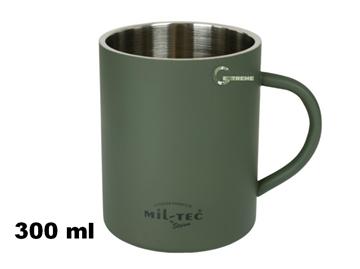 Εικόνα της Κούπα Mil-Tec Insulated Mug 300ml Λαδί
