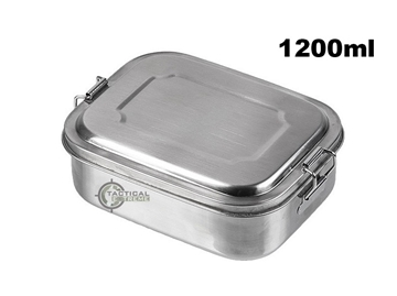 Εικόνα της Ανοξείδωτο Δοχείο Φαγητού Mil-Tec Lunchbox 1200ml