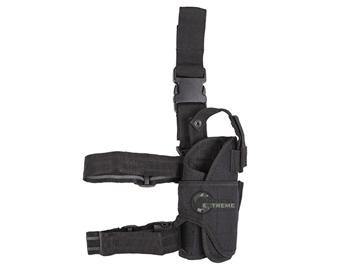 Εικόνα της Adjustable Cordura Leg Holster Mil-Tec Black