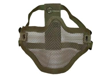 Εικόνα της Μάσκα Προσώπου Mil-Tec Half Protection Net Lens Χακί