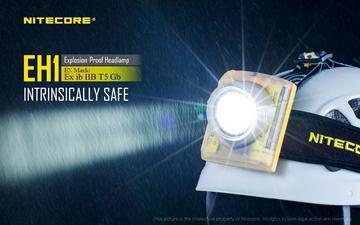 Εικόνα της Αντιεκρηκτικός Φακός Κεφαλής Nitecore Explosion Proof EH1