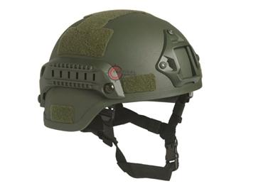 Εικόνα της Κράνος Airsoft Mil-Tec Combat Helmet MICH 2000 NVG Χακί
