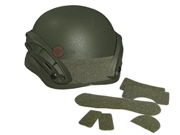Εικόνα της Κράνος Airsoft Mil-Tec Combat Helmet MICH 2002 NVG Χακί