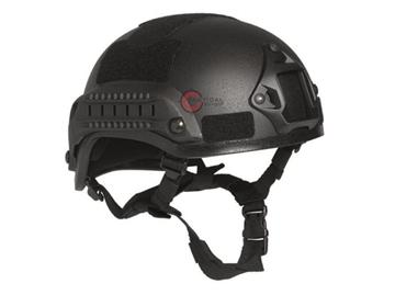 Εικόνα της Κράνος Airsoft Mil-Tec Combat Helmet MICH 2001 NVG Μαύρο