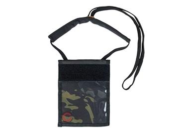 Εικόνα της Θήκη Πορτοφόλι Λαιμού Mil-Tec Neck Wallet Multitarn Black