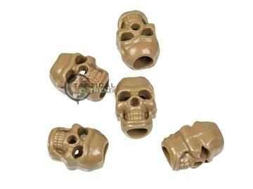 Εικόνα της Skull Cord Stopper Μπεζ