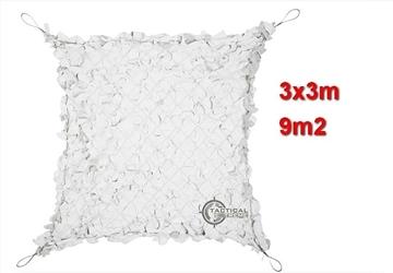 Εικόνα της Δίχτυα Σκίασης 3 x 3 m με αρτάνι και συρματόσκοινο περιμετρικά