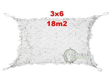 Εικόνα της Δίχτυα Σκίασης 3 x 6 m με αρτάνι και συρματόσκοινο περιμετρικά