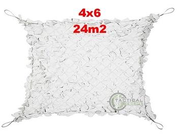 Εικόνα της Δίχτυα Σκίασης 4 x 6 m με αρτάνι και συρματόσκοινο περιμετρικά
