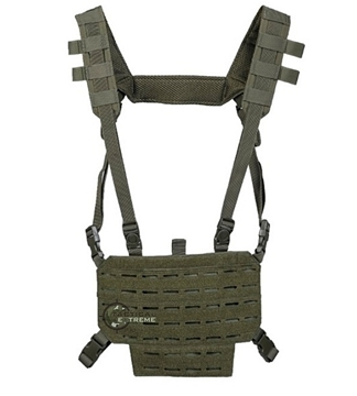 Εικόνα της Mil-Tec Chest Rig Lightweight Olive