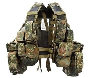 Εικόνα της Γιλέκο Σακίδιο Μάχης Mil-Tec Tactical Vest 12 Pockets Flectar