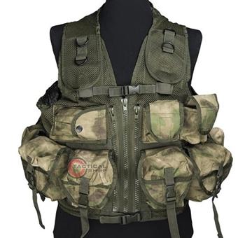 Εικόνα της Γιλέκο Μάχης Mil-Tec Vest Tactical 9 Pockets Mil-Tacs FG