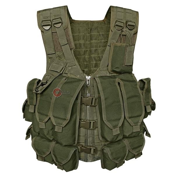 Picture of Γιλέκο Μάχης Mil-Tec AK 74 Combat Vest Χακί