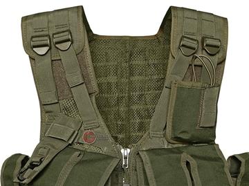 Εικόνα της Γιλέκο Μάχης Mil-Tec AK 74 Combat Vest Χακί