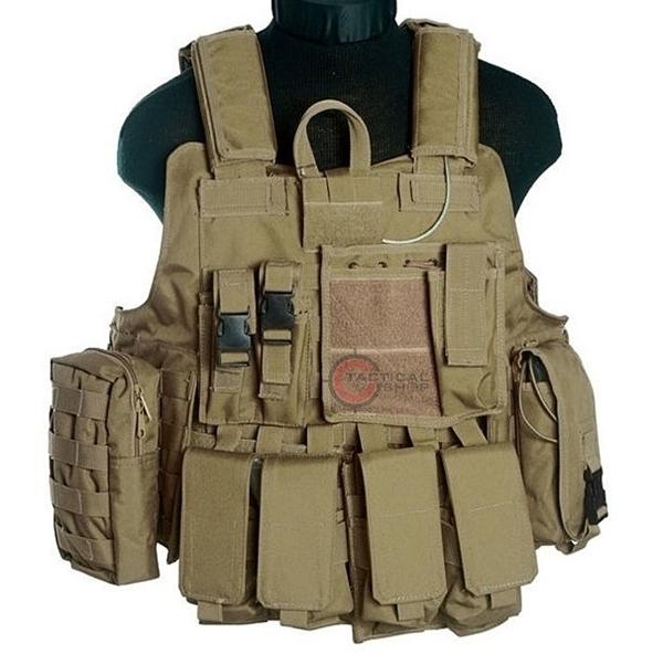 Picture of Mil-Tec Γιλέκο Μάχης Ταχείας Combat Vest Quick Release Coyote