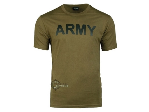 Picture of Μπλούζα Mil-Tec T-shirt Army Λαδί