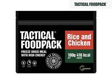 Εικόνα της Φαγητό Επιβίωσης Tactical Foodpack Κοτόπουλο Με Ρύζι 100 g