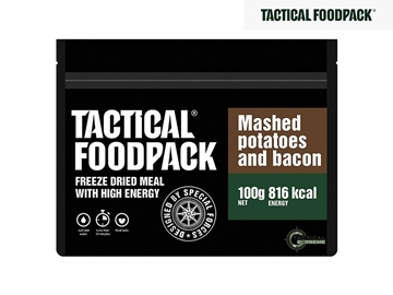 Εικόνα της Φαγητό Επιβίωσης Tactical Foodpack Πουρές Πατάτας Με Bacon 100 g