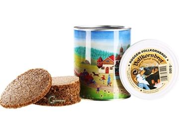 Εικόνα της Κονσερβοποιημένο Ψωμί Ολικής Αλέσεως 500 γρ