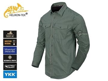 Εικόνα της Πουκάμισο Helikon Covert Concealed Carry Shirt Savage Green Checkered